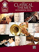 Easy Classical Themes Instrumental Solos: Trombone, Book & CD (Instrumental Solos Series)
