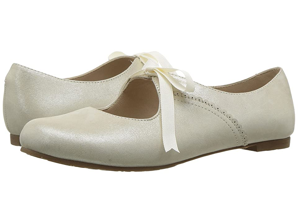 Vintage Style Children's Clothing: Girls, Boys, Baby, Toddler Elephantito - Sabrina ToddlerLittle Kid Talc Girls Shoes $73.00 AT vintagedancer.com