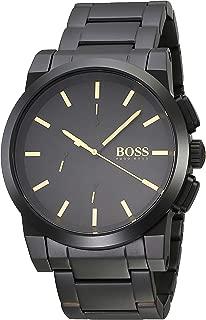 Hugo Boss Men's Quartz Watch analog Display and Stainless Steel Strap, 1513276