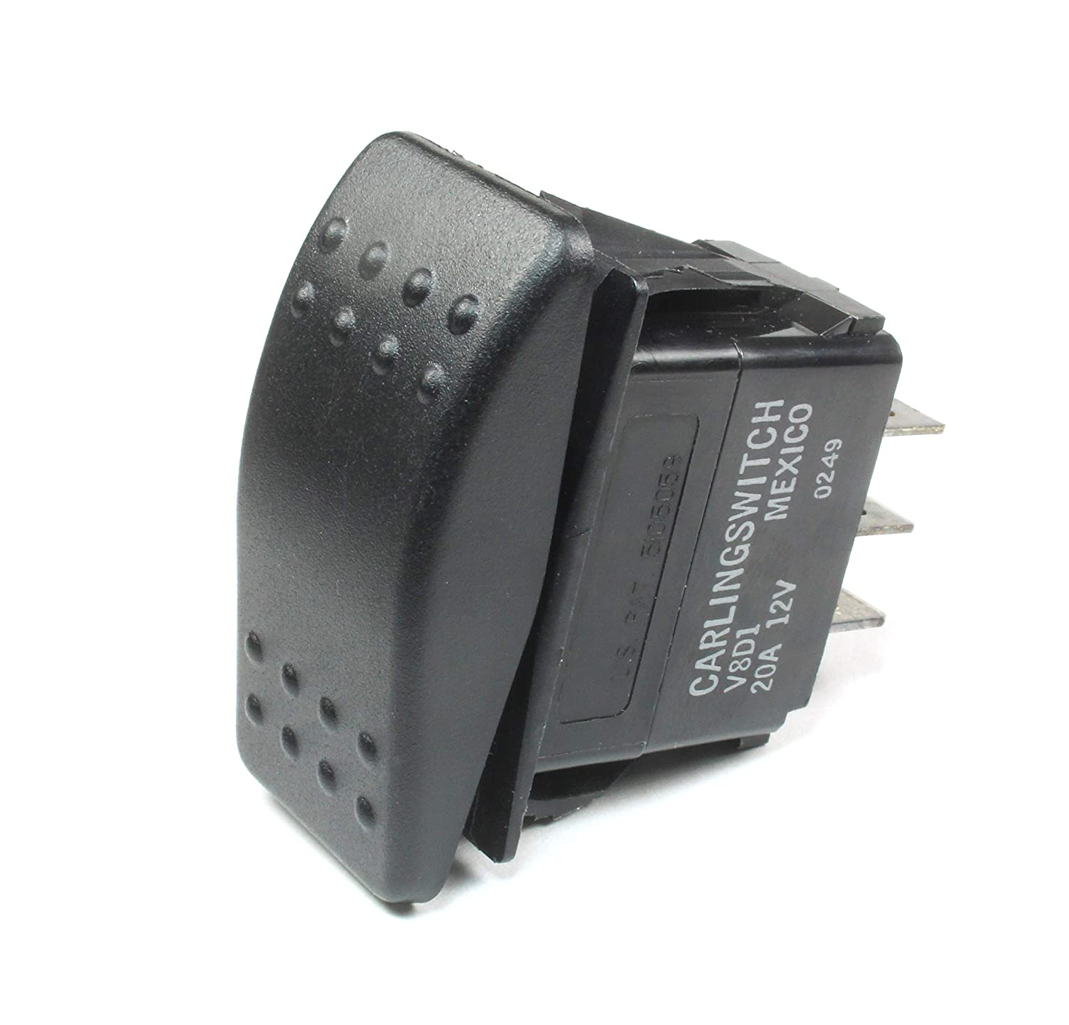 YD 13 Fashion Carling Momentary Rocker Switch SPDT 20A 12VDC Of Sacramento Mall ON