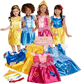 Disney Princess 21-Piece Deluxe Dress-Up Trunk [Amazon Exclusive]