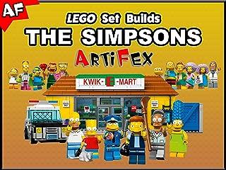 Clip: Lego Set Builds The Simpsons - Artifex