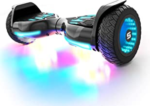 Swagtron SWAGBOARD Warrior XL Off-Road Bluetooth Hoverboard w/ 8-inch Infinity Wheels