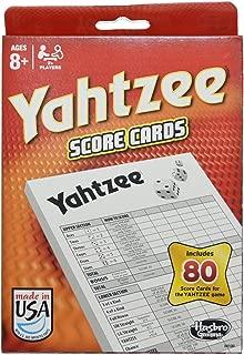 80-Sheet Yahtzee Score Cards - 2 Pack