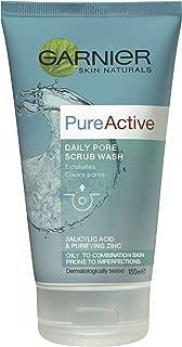 Garnier Pure Active Daily Pore Scrub Wash 150ml