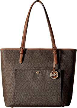 MICHAEL Michael Kors - Jet Set Item Large Top Zip Snap Pocket Tote