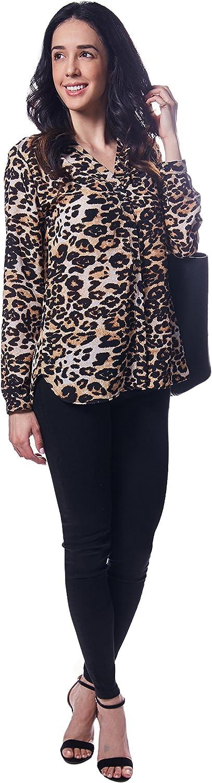 Demerara Mariella Leopard Women's Blouse