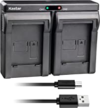 Kastar USB Dual Charger for Samsung SB-L160 and Samsung SC-L520 530 550 600 610 630 650 700 710 750 770 810 VP-W75D VM-B5700 VM-C170 VM-C300 VM-C3700 VP-W80 VP-W80U VP-W87 VP-W87D VP-W90 VP-W97