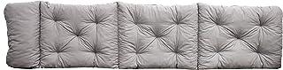 Ambient home Coussin pour Chaise longue EVJE Gris Clair 195 x 49 x 8 cm 90411
