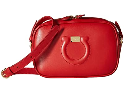 Salvatore Ferragamo City Crossbody (Lipstick) Cross Body Handbags