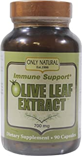 Only Natural - Olive Leaf Extract, 700 mg, 90 Capsules
