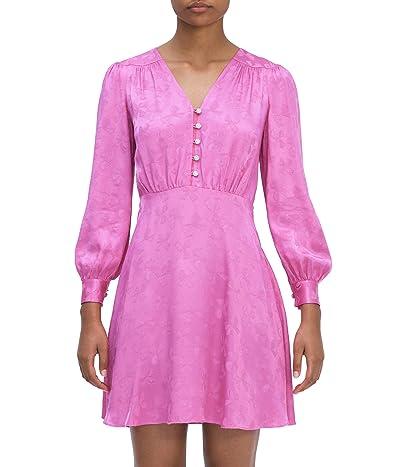Kate Spade New York Jewel Button Jacquard Dress Women