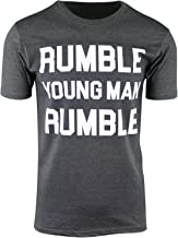 Rumble Young Man Rumble Mens Shirt Float Like a Butterfly