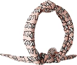 All Over Heart Print Headband