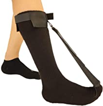 Plantar Fasciitis Stretch Night Sock - for Pain Relief from Plantar Fasciitis and Achilles Tendonitis - Black - M