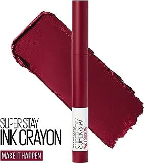 Maybelline SuperStay Ink Crayon Lipstick, Matte Longwear Lipstick Makeup, Make It Happen