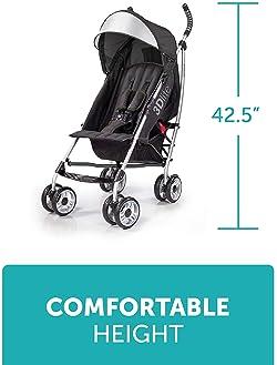 Summer 3Dlite Convenience Stroller, Black (2016)