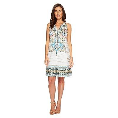 Hale Bob The Great Escape Matte Microfiber Jersey Dress (Beige) Women