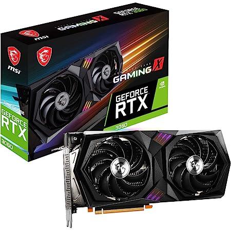 MSI GeForce RTX 3060 GAMING X 12G グラフィックスボード VD7552