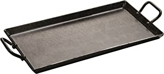 Lodge CRSGR18 Carbon Steel Griddle, Pre-Seasoned, 18-inch , Black