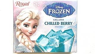 4 Boxes Disney Frozen Chilled Berry Royal Gelatin, Frozen Jello