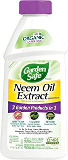 Garden Safe HG-93179 Neem Oil Extract Concentrate, 16-Fluid Ounces