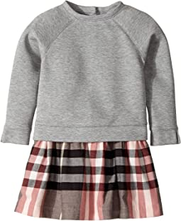 Burberry Kids - Sweater Top Check Skirt Dress (Infant/Toddler)