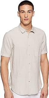 Max Men's Plain Slim Fit Casual Shirt