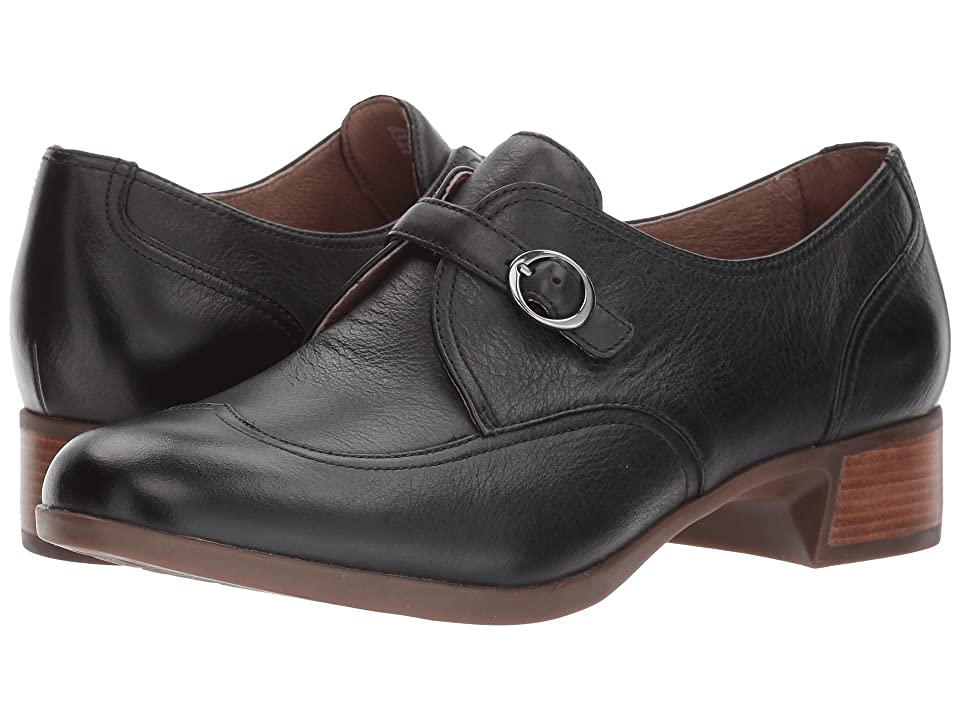 Dansko Livie (Black Burnished Nappa) Women