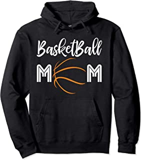 Basketball Mom Mothers Day Gift Pullover Hoodie