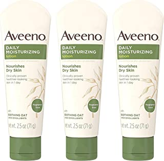 AVEENO Active Naturals Daily Moisturizing Lotion 2.50 oz(Pack of 3)