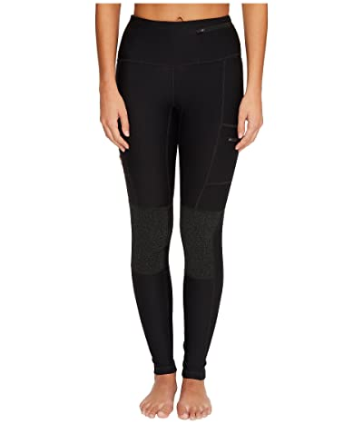 Fjallraven Abisko Trek Tights (Black) Women