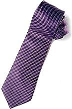 STEFANO RICCI(ステファノリッチ) ネクタイ 高級 ブランド イタリア プリントタイ 小紋柄 御洒落 メンズ 紳士服 パープル