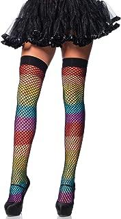 rainbow garter belt