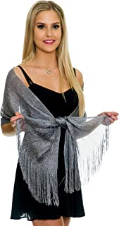 Best womens silver shawl Reviews