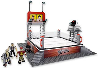 The Bridge Direct WWE StackDown Ring Set with Figures
