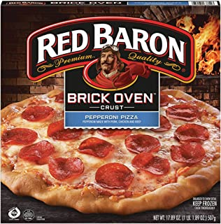 Red Baron Brick Oven Pepperoni Pizza, 17.89 oz (frozen)
