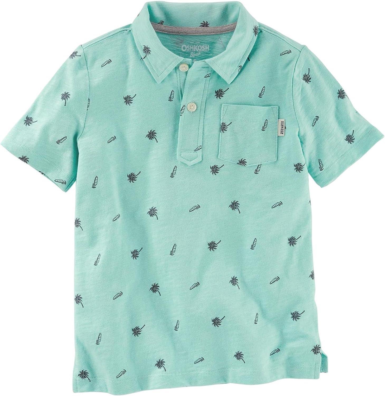 OshKosh B'Gosh Boys' Knit Polo Henley 21966617