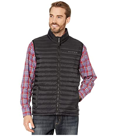 Roper 4043 Down Proof Coated Vest (Black) Men