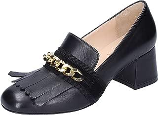 LIU JO Moccasins Womens Leather Black