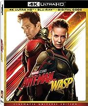 Ant-Man and the Wasp 4K + Blu Ray + Digital Code [4K UHD + Blu-ray]