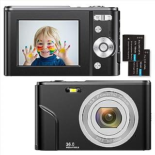 Digitalkamera 1080P HD Kompaktkamera 36 Megapixel Mini-Videokamera 2,4