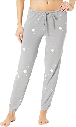 Stars Cozy Knit Lounge Pants