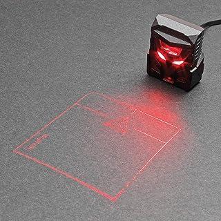 ODiN - ماوس ليزر ثلاثي الأبعاد - لوحة التتبع الأولى لجهاز الإسقاط في العالم: الإكسسوار التكميلي المثالي للوحات المفاتيح ال...