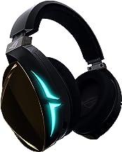 Asus ROG Strix Fusion 500 - Auriculares gaming con iluminación RGB sincronizable entre auriculares que puedes controlar desde la app, DAC ESS de alta fidelidad, amplificador y sonido 7.1 virtual