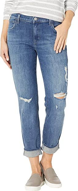 Johnny Mid-Rise Boy Fit Jeans in Redemption Destruct