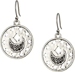 Lucky Brand Moon Drop Earrings