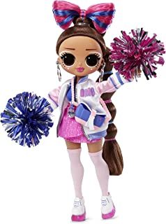 LOL Surprise OMG Sports Cheer Diva Competitive Cheerleading Fashion Doll with 20 Surprises to UNbox