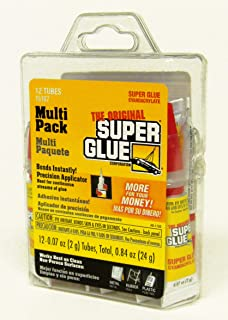 Super Glue 15187 Gel, Clear- pack of 12