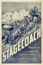 Stagecoach 1939 Movie Poster Masterprint (11 x 17)